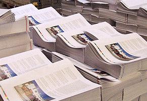 Zeitungsproduktion